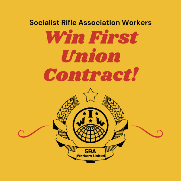 SRA Workers United Win Contract